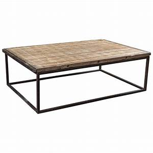 Industrial style coffee table at 1stdibs for Industrial look coffee table