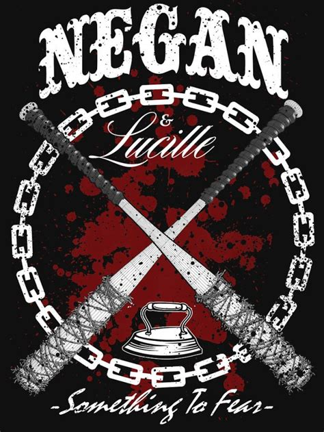 negan and lucille walking dead zombtees