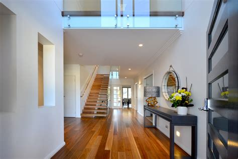 double storey void  entry foyer gallery tullipan homes