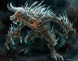 God of war-Ice Minotaur by NichtElf on DeviantArt