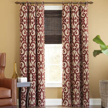style palais grommet top curtain panel green