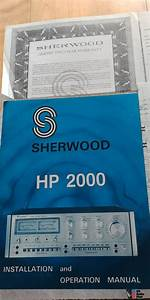 Sherwood Hp 2000 Controlled Amplifier Monster Pre Amp  Amp