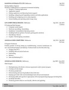 windows server support resume resume desktop support engineer