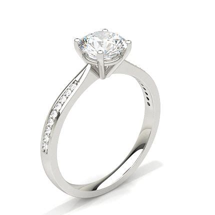 shop for white gold engagement rings from diamonds factory