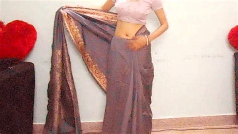 how to wear silk saree perfectly how to drape indian silk - How To Drape Saree Perfectly
