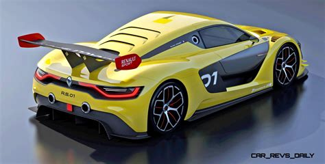 renault sport car renaultsport r s 01 racecar runs gt r engine in mid ship
