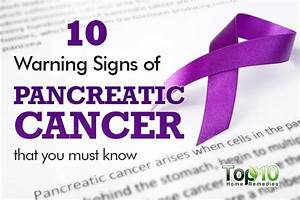10 Warning Signs of Pancreatic Cancer that You Must Know ...
