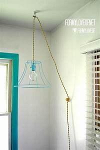 Vintage Light Bulbs Home Depot Wire Lamp Shade Pendant Light With Twisted Fabric Wrapped