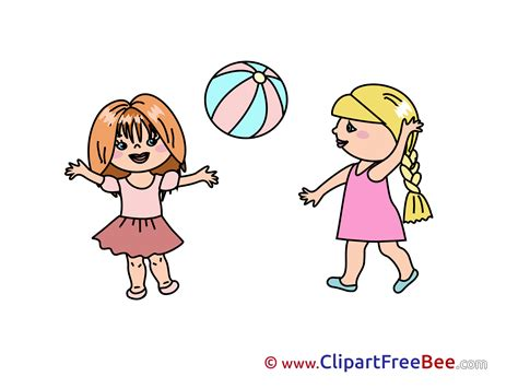 foto de Free Girls Playing Clipart Pictures Clipartix