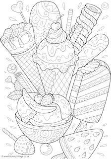 ice cream worksheets