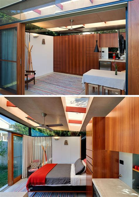 impressive backyard shed combines living quarters