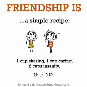 Simple Friendsh... Short Simple Friend Quotes