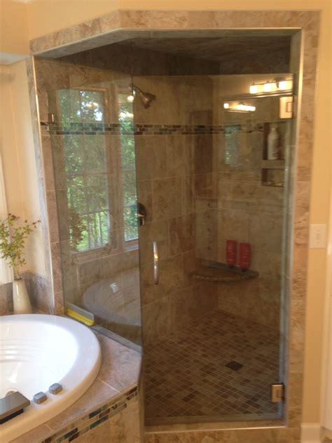 charlotte nc corner shower remodel