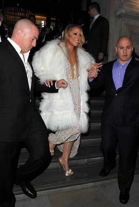 Mariah Carey Fur Coat - Mariah Carey Net Worth