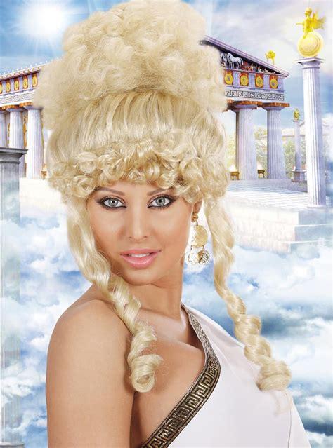 Peruca Deusa grega. Entrega 24h   Funidelia