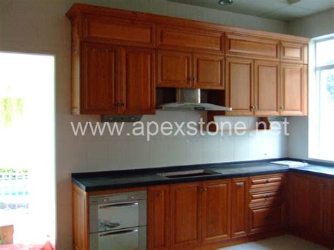 china kitchen cabinet  black granite countertop china granite countertop kitchen cabinet