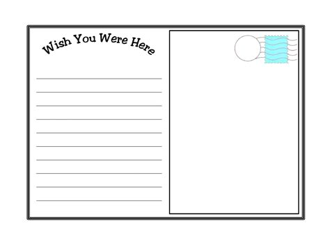 postcard template postcard template printable vastuuonminun