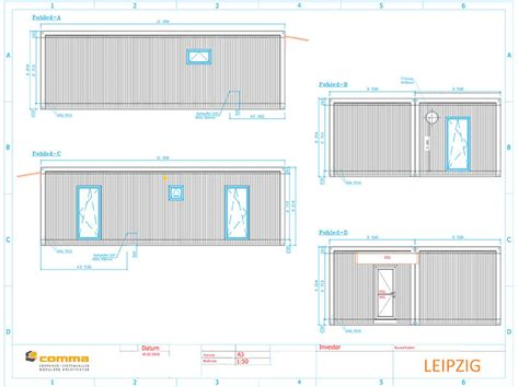 Grundriss Bungalow 3 Zimmer by 3 Zimmer Bungalow Comma Container