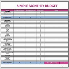 Monthly Budget Spreadsheet  Finances  Household Budget Spreadsheet, Monthly Budget Spreadsheet