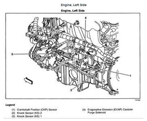 2006 Chevy Optra Wiring Diagram by 2004 Trailblazer Camshift Position Sensor Fixya