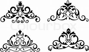 Floral patterns and borders for design and ornate   Stock ...