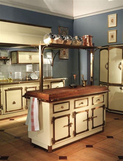 antique kitchen island ideas zauberhafte k 252 che im landhausstil einrichten 4099