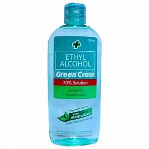 Green Cross Ethyl Alcohol 250ml