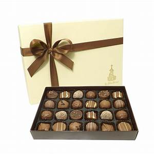 Logo Chocolate Promotional Boxed Truffles
