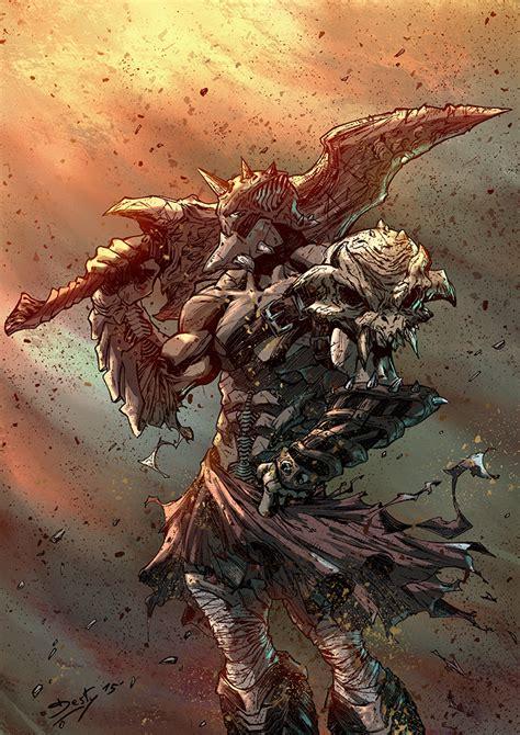 Big Guy With Big Blade By Destybox On Deviantart