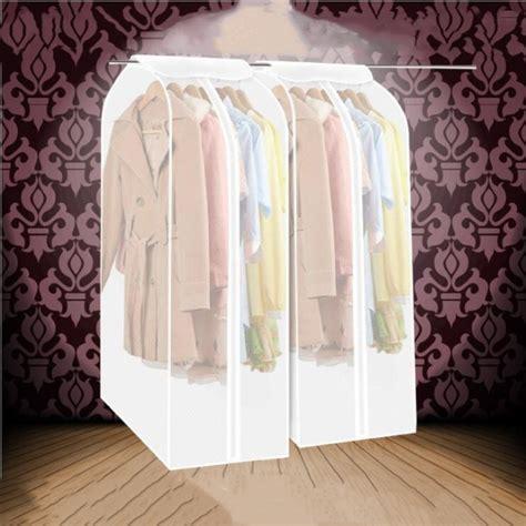 transparent dust bag wedding dress hanging bags organizer