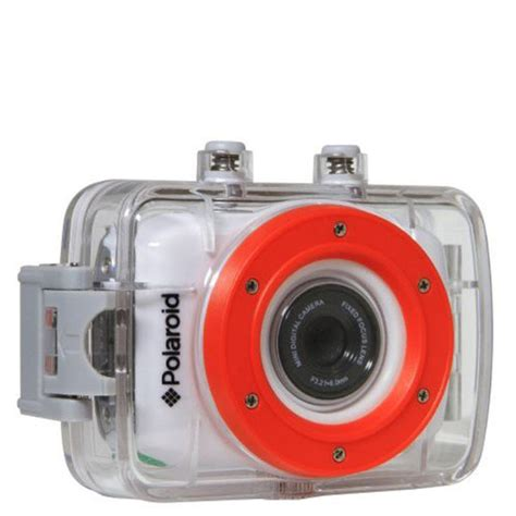 polaroid xs hd action camera  touchscreen mounting