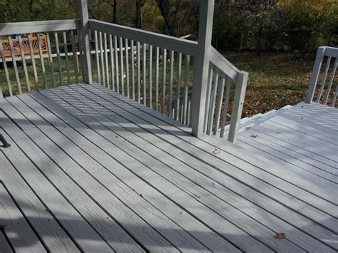Restaining A Deck With Solid Stain by Solid Deck Stain Artisan Handyman Services