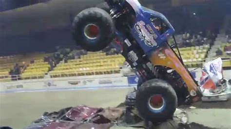 hara arena monster truck equalizer monster truck wheelie contest at hara arena 2015