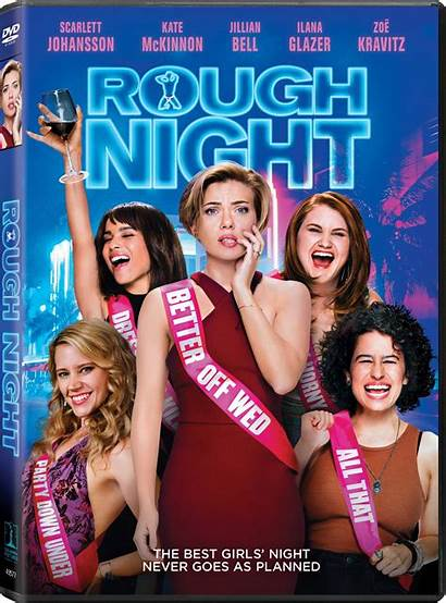 Rough Night Dvd Scarlett Johansson Movies Kate