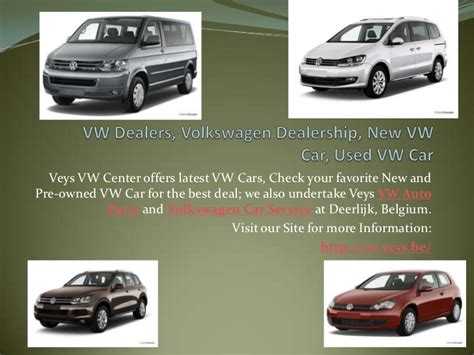 Volkswagen Car Dealers, Used Vw Car, Vw Auto Parts And Service
