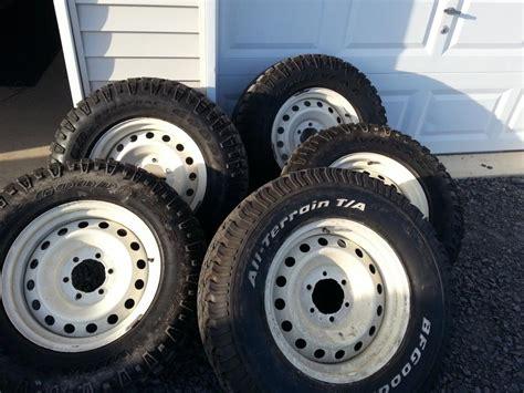 oem steel wheels  tires  sale  ny toyota fj