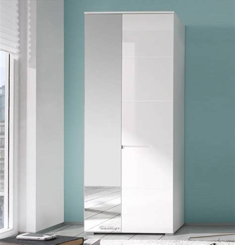 Narrow White Wardrobe by Shallow Narrow And Slim Wardrobes For Small Bedrooms