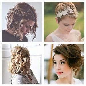 Coiffure Mariage Cheveux Court : coupe de cheveux mariage court coupe de cheveux mariage ~ Dode.kayakingforconservation.com Idées de Décoration