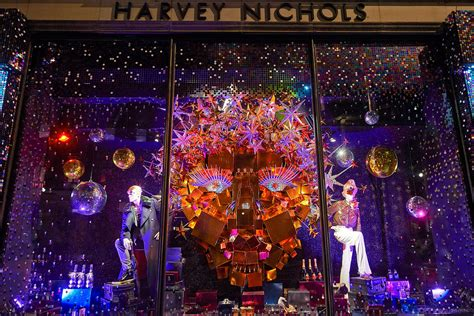 harrods  harvey nichols unveil  christmas