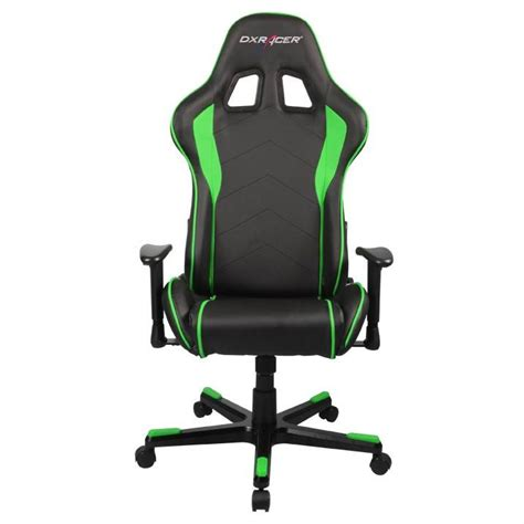 Dxracer Gaming Chair by Dxracer F Series Pc Office Gaming Chair Black And Green