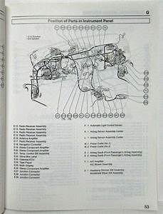 2005 Toyota Avalon Electrical Wiring Diagram Manual
