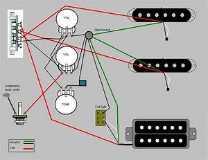 Bass Guitar Single Pickup Wiring Diagram