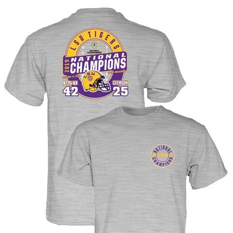 LSU Tigers 2019-2020 Football National Champions Gray Game ...
