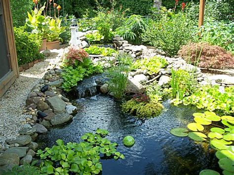 Small Backyard Pond Pictures by Small Water Feature Garden Pond Start An Easy Backyard