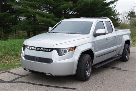 truck honda workhorse reveals its w 15 plug in hybrid pickup the