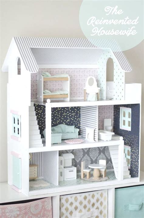 dollhouse renovation   reinvented housewife doll