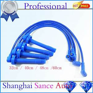 Ignition Spark Plug Wire Cable Set D15 D16 10 2mm For