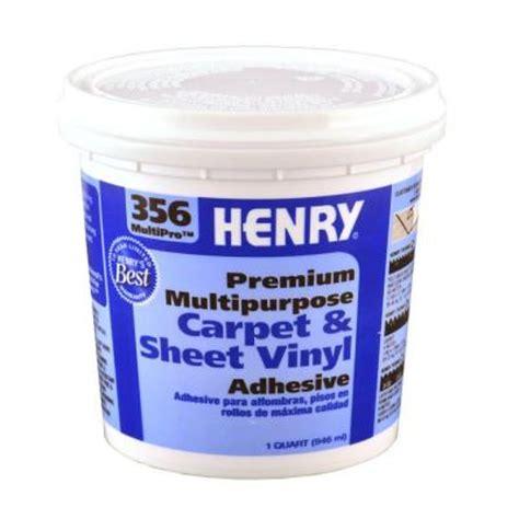 henry 356 1 qt multi purpose flooring adhesive 12072
