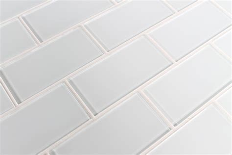 daltile 4x8 white subway tile snow white 3x6 glass subway tiles rocky point tile