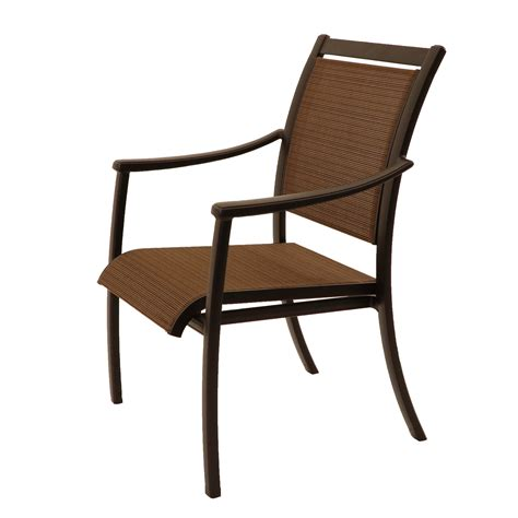 Sling Patio Furniture by Sherwood Sling Dining Chair Patio Furniture At Sun Country